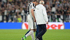 Chiellini injury blow for Juventus title...