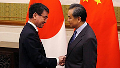 Chinese foreign minister visits Japan...