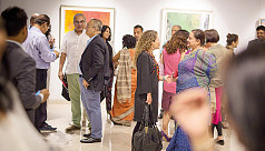 Art auction held in Gulshan to support...