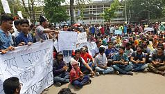 Students' factions in disagreement over...