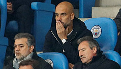 Fuming Guardiola blames referees for...