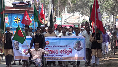 Freedom fighters in Dinajpur and Madaripur...