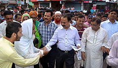 Khulna city polls: Candidates campaigning...