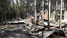 Awami League infighting leaves 25 houses burnt in Madaripur