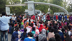 Quota reform demo: RU, RUET students...