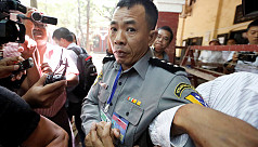 Family of Myanmar policeman who described...