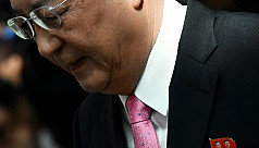 North Korea's foreign minister in rare...