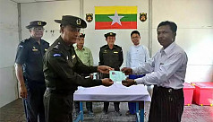 Myanmar govt: First Rohingya family...