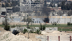 Syrian army shells jihadist enclave...