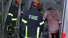 Tangail fire service comes to the rescue...