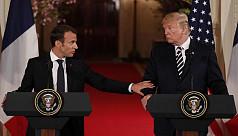 Trump and France's Macron seek new measures...