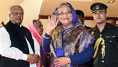 PM Sheikh Hasina leaves Sydney for home