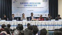 MUN starts at ULAB with participation of more than 200 delegates