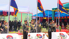 Bangladesh Army chief raises flags of 3 new artillery units