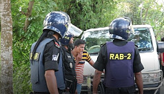 Three robbers killed in 'gunfight' with...