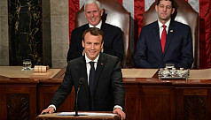 France's Macron pushes back at 'America...