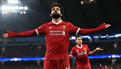 Salah voted England's Footballer of...