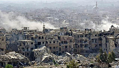 Family dead in Syria regime shelling...