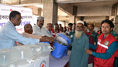 Red Crescent distributes household essentials...