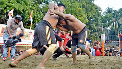 Jibon Boli clinches title at the 109th 'Jabbar-er Boli Khela'
