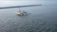 Vessel capsize in Pashur: Salvage team...