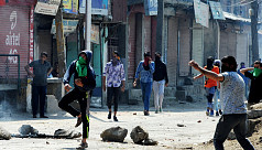 Four killed in clashes in Indian...