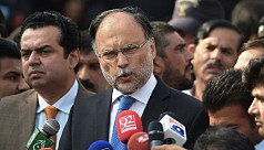 Pakistan's interior minister wounded...