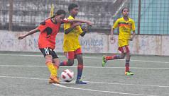 JFA U-14 Women's Football semis...
