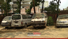 Vehicles worth crores waste away inside...