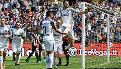 Inter crush Udinese to keep Champions...