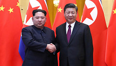 North Korea's Kim tells China he is...