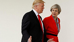 Trump speaks with Britain's May on Iran,...