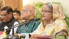 PM Hasina: I wasn't angry to accept...