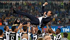 Allegri planning to stay at...