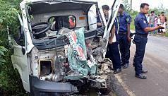 Five killed in Bogura road