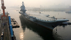 First China-made aircraft carrier starts...