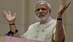Modi inaugurates India's longest rail-road...