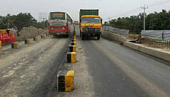 Another lane of Fatehpur railway overpass...