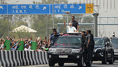 Modi opens 2 expressways around Delhi...