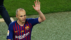 Iniesta on way to Japanese club Vissel...