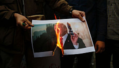 Iran says Trump 'feeble-minded' for...