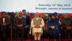 Modi inaugurates hydro project in Kashmir,...
