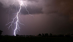 Four struck by lightning in Habiganj,...