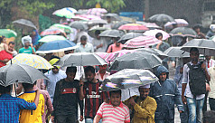 Met Office forecasts rain,...