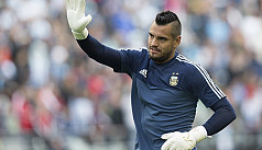 Argentina goalkeeper Romero out of World...