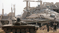Syrian army takes last insurgent area...
