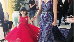 Mother's Day came early for Aishwarya on Cannes red carpet