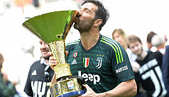 Buffon bids farewell to Juve