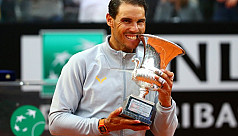Nadal claims eighth Rome title
