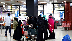 40 more Bangladeshi women workers return from Saudi Arabia